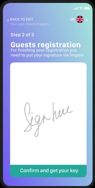 Guests Registration